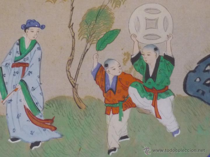 Arte: Acuarela china enmarcada - Foto 12 - 44238862