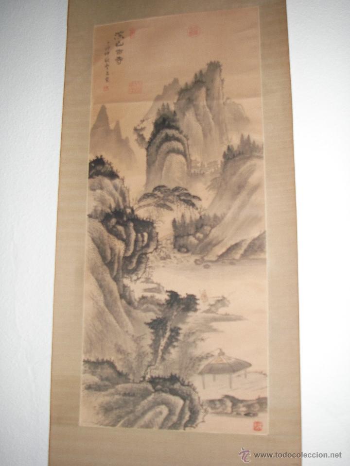 cuadro de pared arte chino enmarcado sobre tela - Comprar Arte ...
