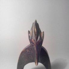 Arte: POLEA DE HILAR SENUFO COSTA DE MARFIL ARTE AFRICANO. Lote 44469430