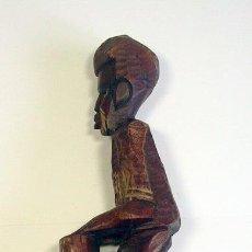 Arte: FIGURA MADERA - AHITÍ - DÉCADA 80. Lote 45802783