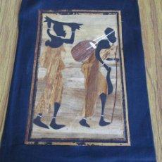 Arte: ARTE AFRICANO COLAS - LOS TONOS MARRONES Y AMARILLOS PARECE BEJETALES. Lote 45984428