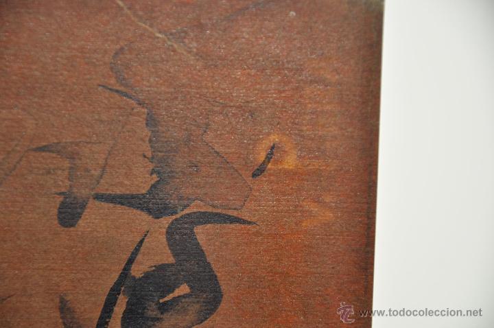 Arte: ACUARELA ORIGINAL JAPONESA PAISAJE FIRMADO - Foto 2 - 48871642