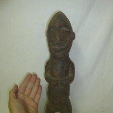 Arte: ANTIGUA ESCULTURA AFRICANA DE MADERA TALLADA, AFRICA. Lote 49425009