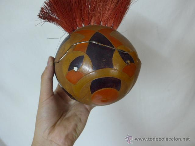 Arte: Lote de 3 antigua mascara de america latina - Foto 8 - 49567052