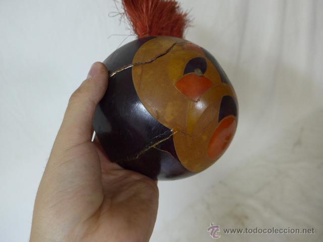 Arte: Lote de 3 antigua mascara de america latina - Foto 9 - 49567052