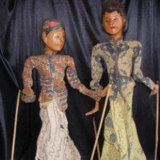 Arte: ANTIGUAS MARIONETAS DE MANO DE LA INDIA DE INDONESIA WAYANG 45 CM. Lote 50443796