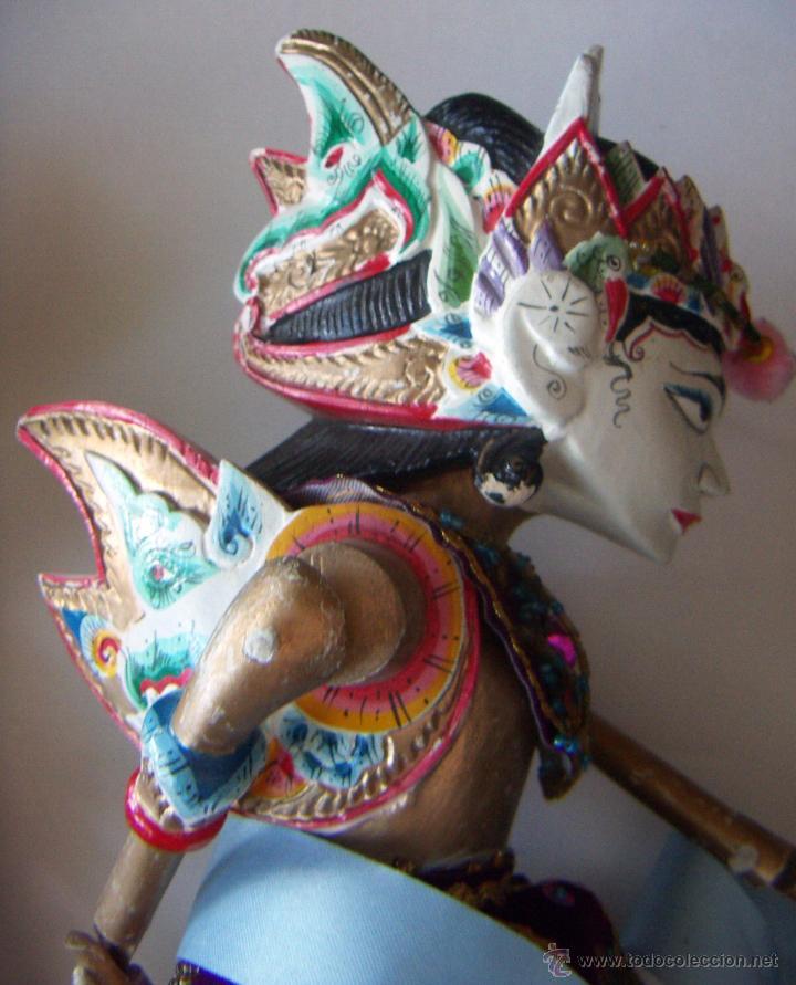 Arte: 2 marionetas de Malasia artesanas - Foto 7 - 51736616