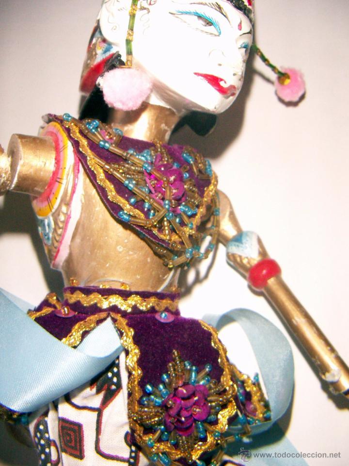 Arte: 2 marionetas de Malasia artesanas - Foto 9 - 51736616
