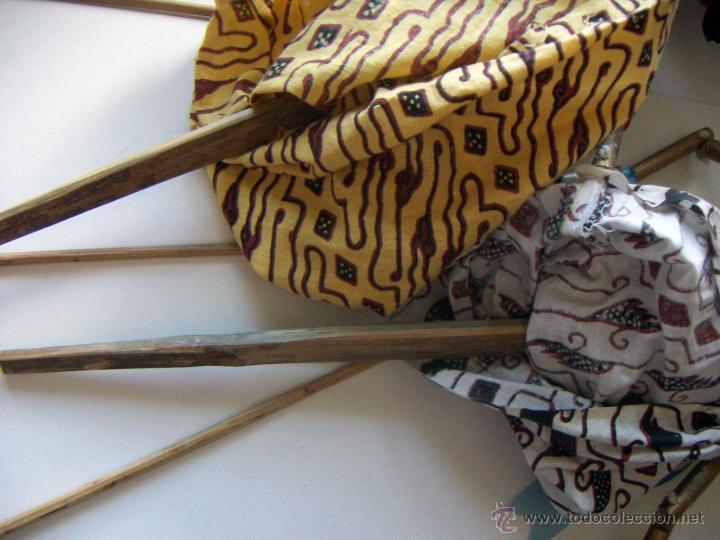 Arte: 2 marionetas de Malasia artesanas - Foto 11 - 51736616