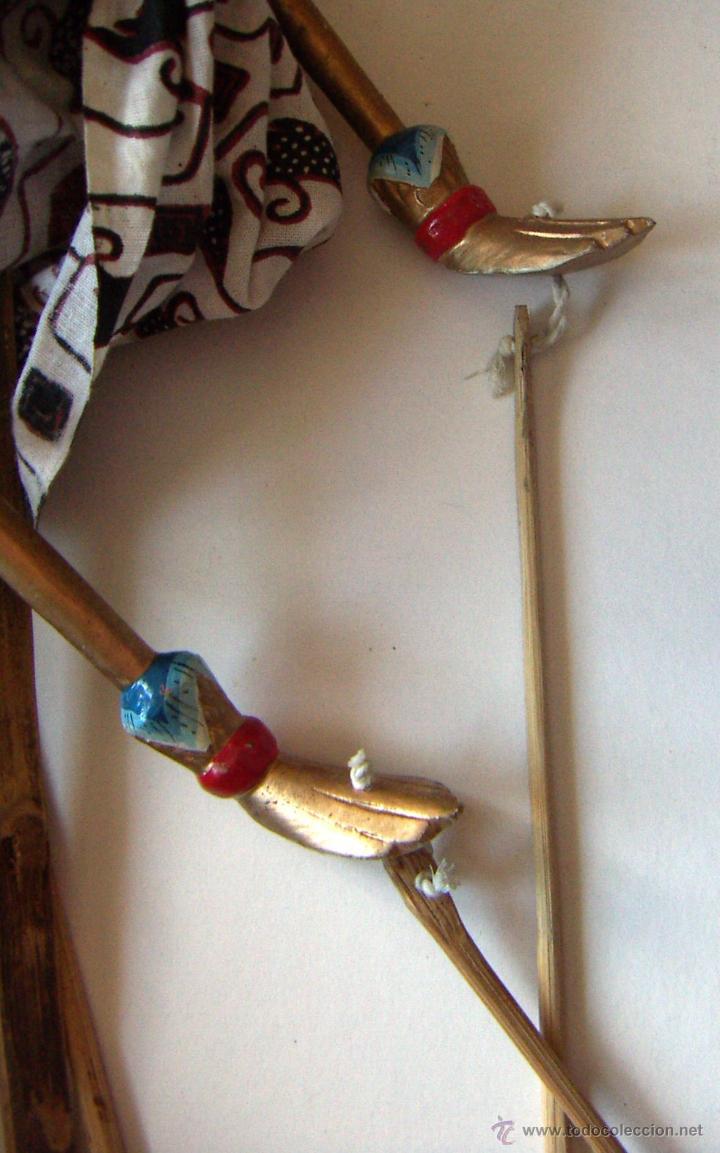 Arte: 2 marionetas de Malasia artesanas - Foto 12 - 51736616