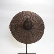 Arte: ARTE ÉTNICO AFRICANO, ESCUDO SOBRE STAND. TAMBERMA/SOMBA. TOGO Y BENÍN. ÁFRICA.. Lote 53106130