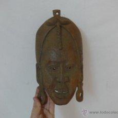 Arte: ANTIGUA MASCARA DE MADERA TALLADA AFRICANA, MASAI, ORIGINAL, AFRICA. Lote 53885738