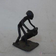Arte: ANTIGUA ESCULTURA DE HIERRO AFRICANA, ORIGINAL, DE AFRICA. Lote 53887147