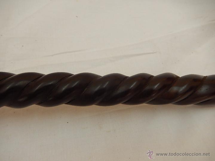 Arte: Bastón africano de ébano - Foto 14 - 54568125