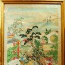 Arte: A3-064. ESCENA DE LA CORTE IMPERIAL CHINA. PINTURA SOBRE PAPEL. CHINA. PRINCIPIO S. XX.. Lote 54191458