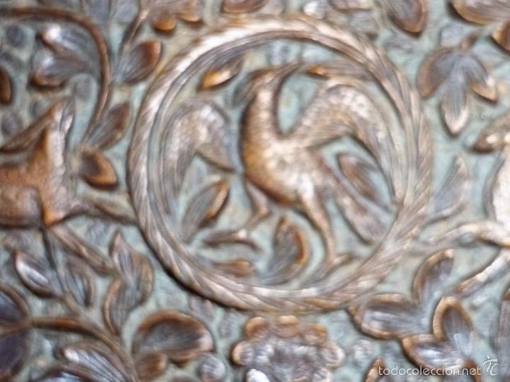 Arte: Caja tallada representando la caza del oso - Foto 34 - 55227828
