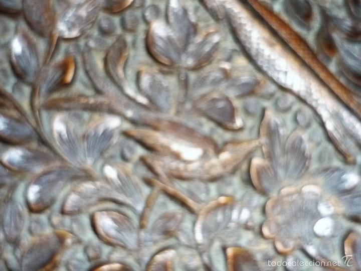 Arte: Caja tallada representando la caza del oso - Foto 40 - 55227828