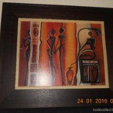 Arte: CUADRO DE LA MAESTRA DALIA MEXICANA ( ARTE VISUALES ). Lote 55732531