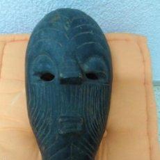 Arte: ANTIGUA MASCARA AFRICANA DE MADERA FABRICADA A MANO ETNIA ZAIRE . Lote 56670400
