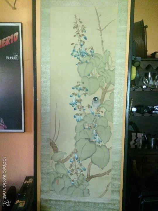 Arte: Papiro seda japonés muy antiguo - Foto 4 - 56954836
