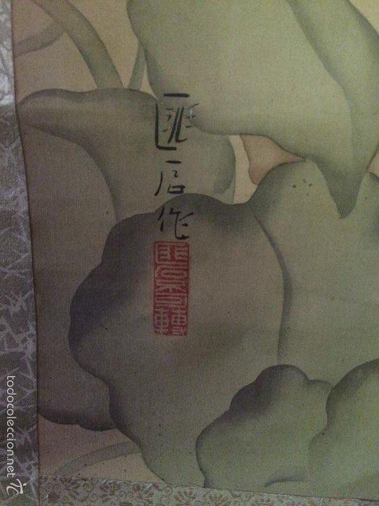 Arte: Papiro seda japonés muy antiguo - Foto 7 - 56954836
