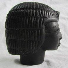 Arte: PEQUEÑO BUSTO EGIPCIO EN PIEDRA. Lote 57285093