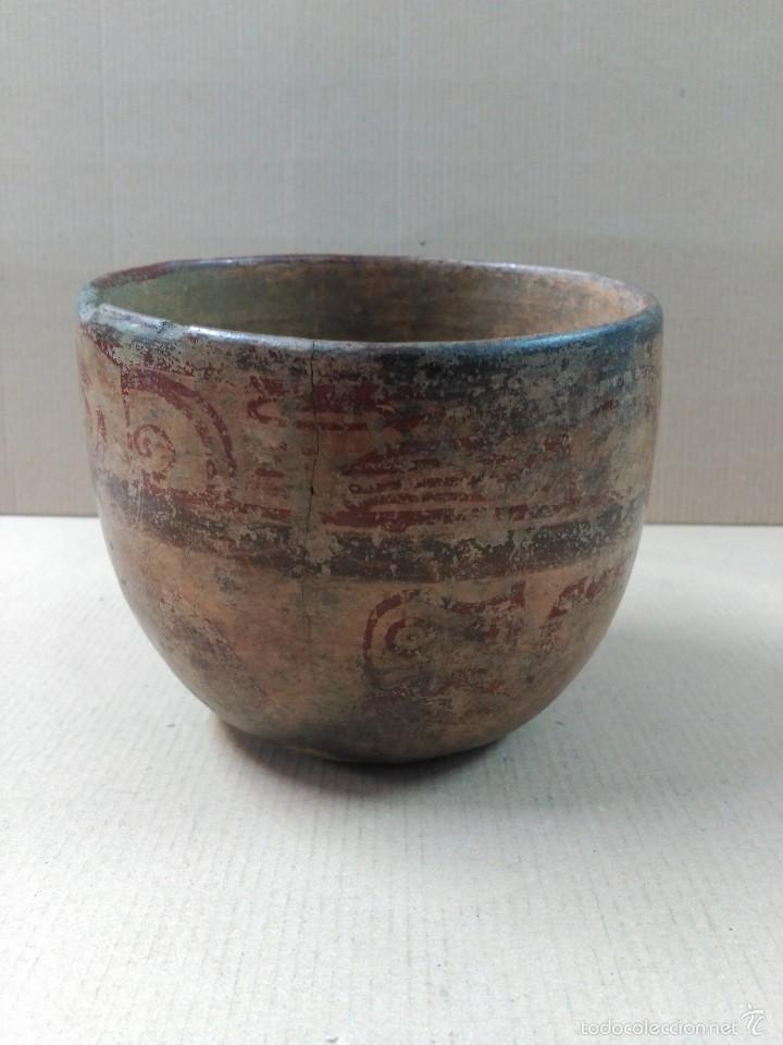 CUENCO CERAMICO PRECOLOMBINO (Arte - Étnico - América)
