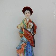 Arte: ANTIG FIGURA DE CHINO EN CERAMICA. Lote 58282097