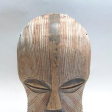 Arte: MASCARA AFRICANA. SONGYE KIFWEBE. TALLA ARTE ETNICO AFRICANO. CONGO. ÁFRICA.-. Lote 58622787