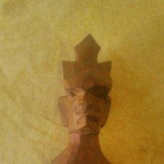 Arte: PEQUEÑA ESCULTURA AFRICANA TALLADA EN MADERA NOBLE.. Lote 58804106