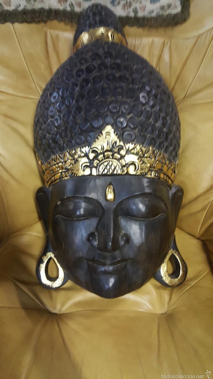 GRAN MASCARA AFRICANA, 62CM, PARA COLGAR (Arte - Étnico - África)