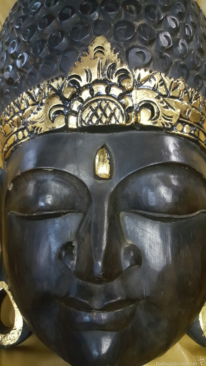 Arte: Gran mascara africana, 62cm, para colgar - Foto 2 - 61364826