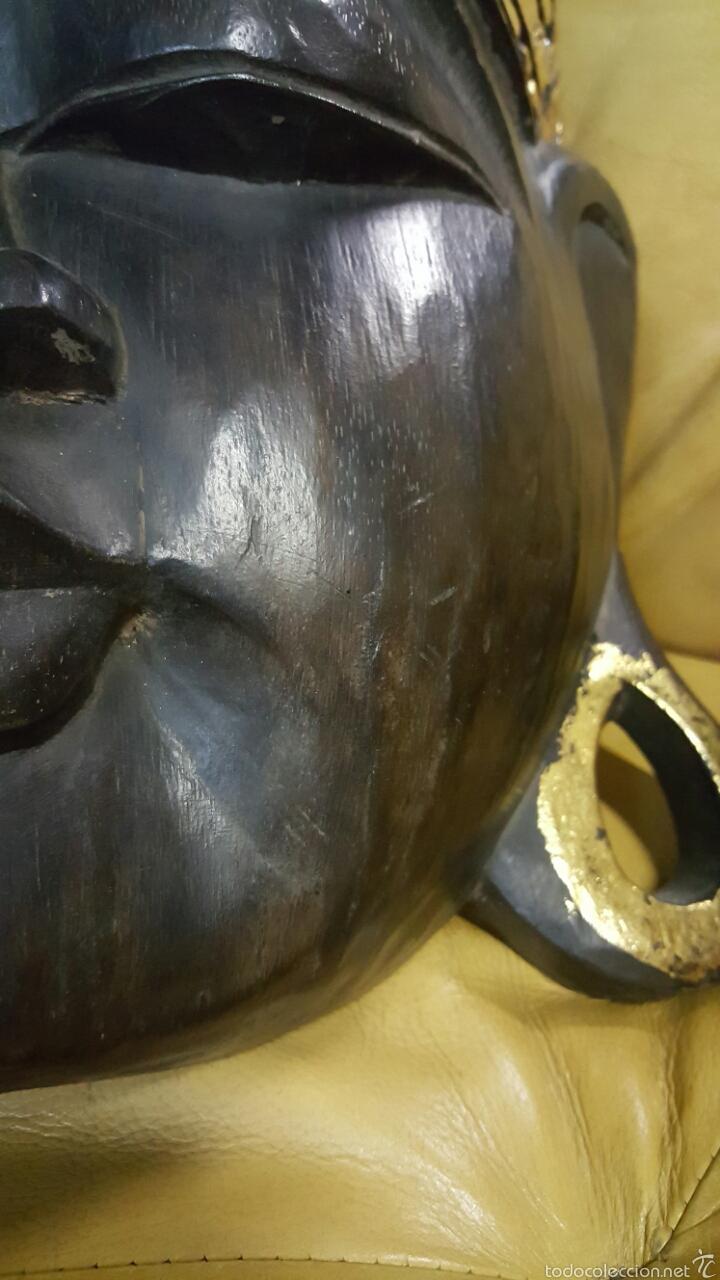 Arte: Gran mascara africana, 62cm, para colgar - Foto 3 - 61364826