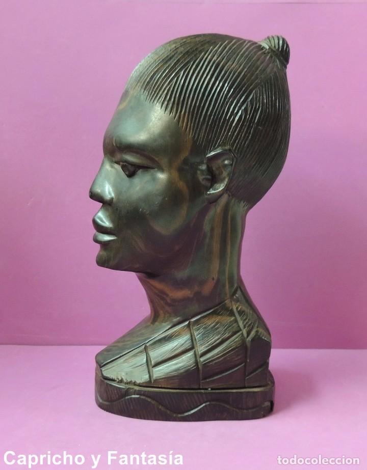 Arte: Busto africano nº 444 - Foto 2 - 61891904