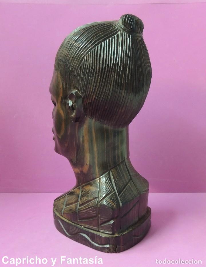 Arte: Busto africano nº 444 - Foto 3 - 61891904