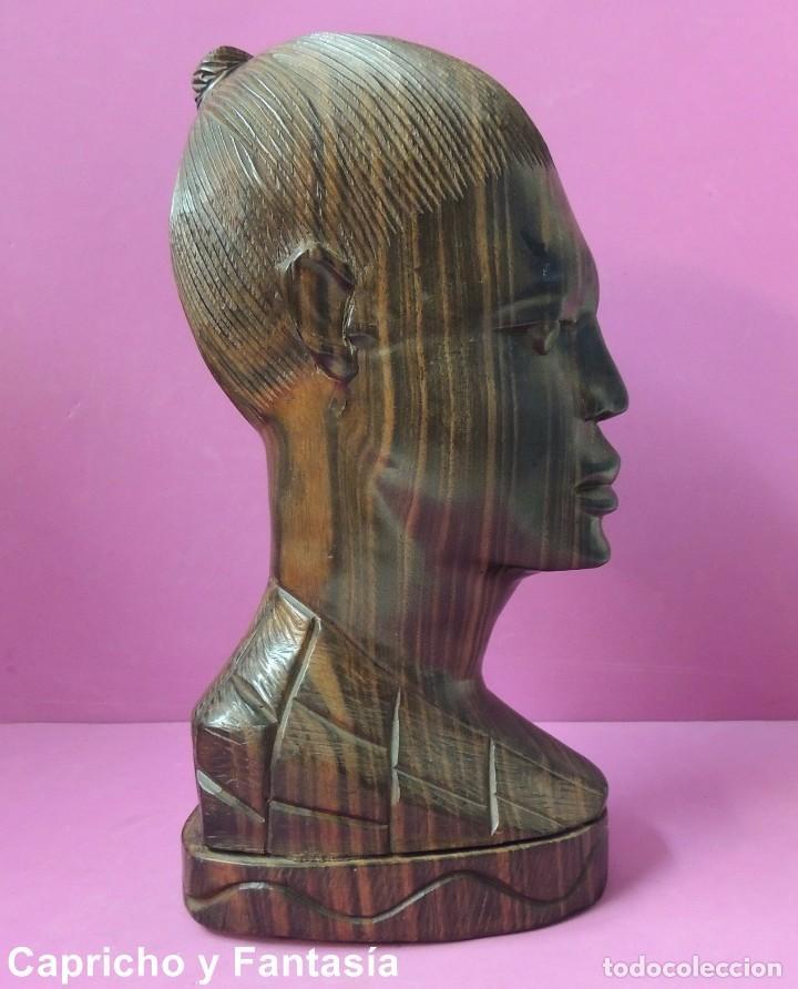 Arte: Busto africano nº 444 - Foto 5 - 61891904