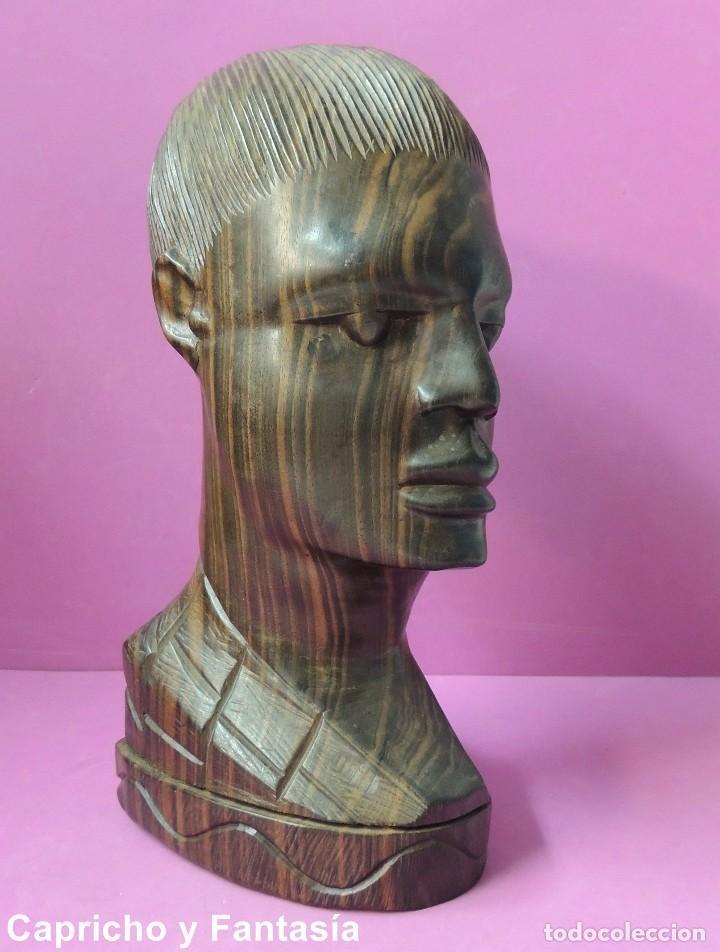 Arte: Busto africano nº 444 - Foto 6 - 61891904