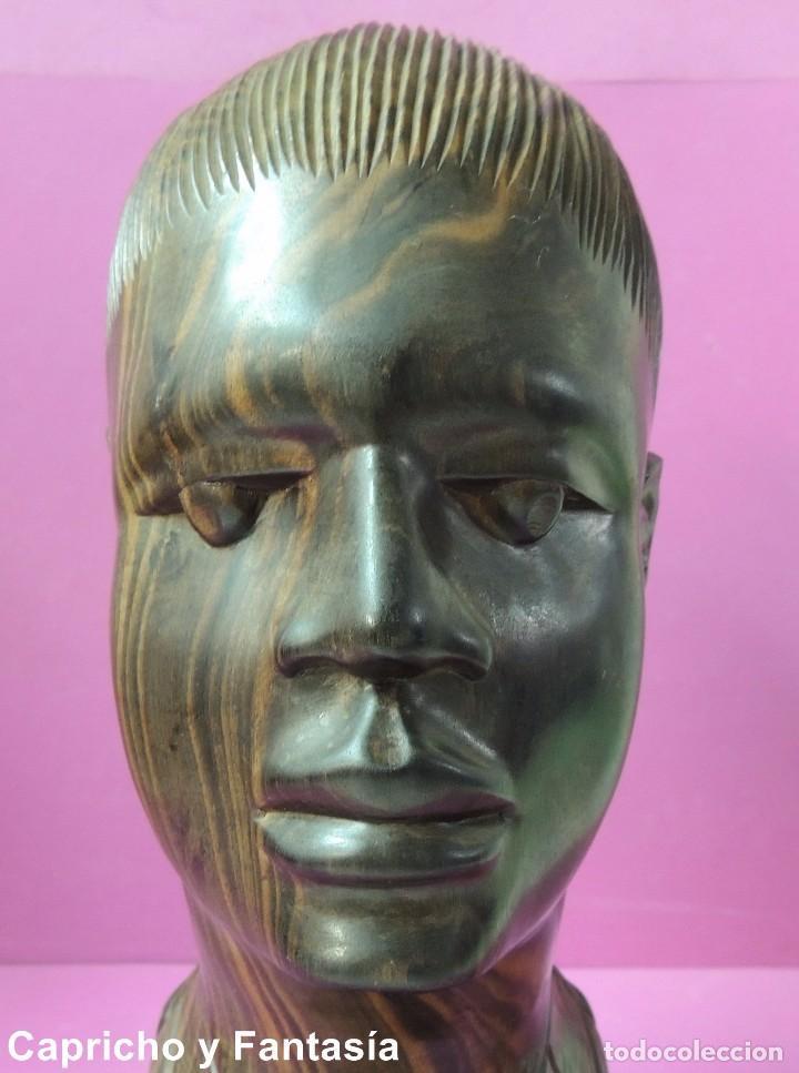 Arte: Busto africano nº 444 - Foto 8 - 61891904