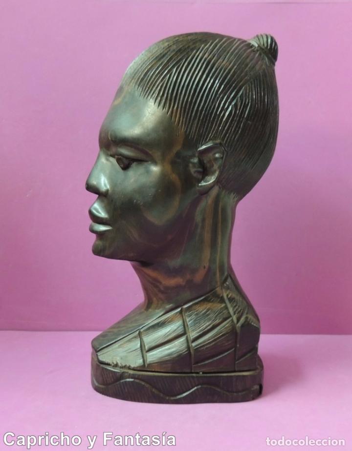 BUSTO AFRICANO Nº 444 (Arte - Étnico - África)