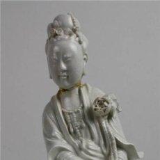 Arte: MUJER ORIENTAL. PORCELANA BLANCA. CHINA. SIGLO XIX-XX. Lote 64185319