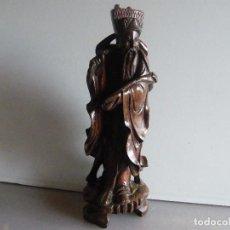 Arte: TALLA DE MADERA CHINA.. Lote 66188194
