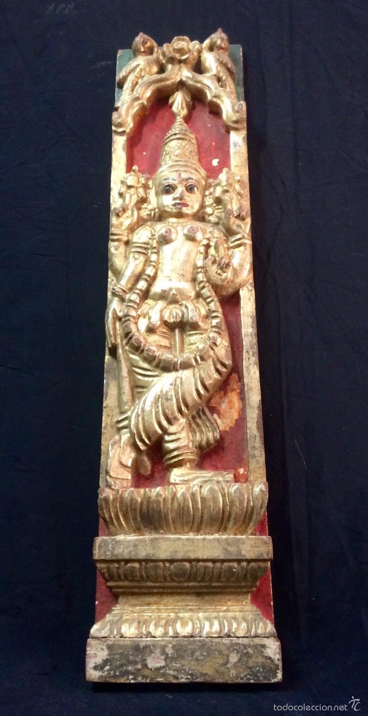 Arte: Tallas en altorelieve orientales, principios siglo XX. - Foto 2 - 66341313