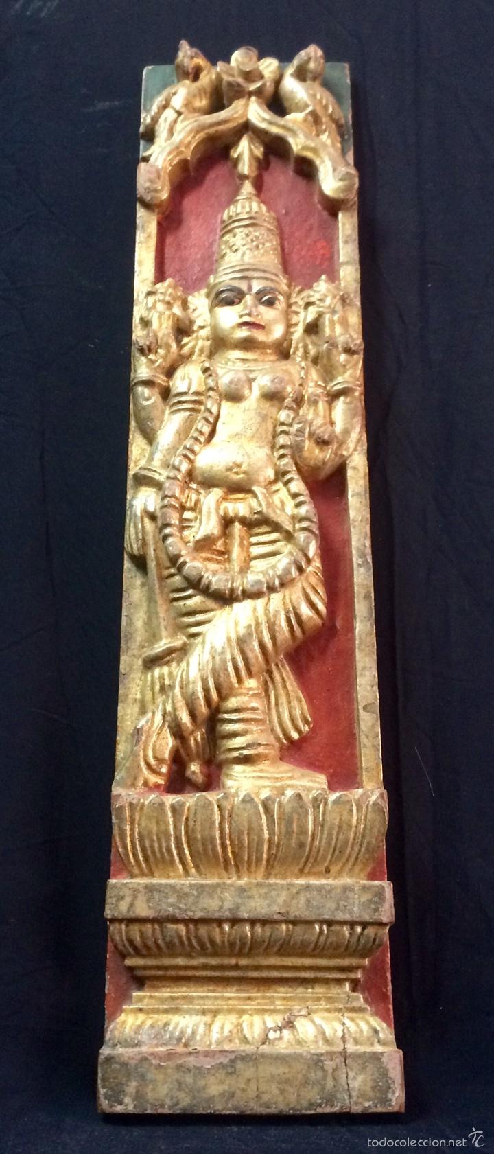 Arte: Tallas en altorelieve orientales, principios siglo XX. - Foto 5 - 66341313