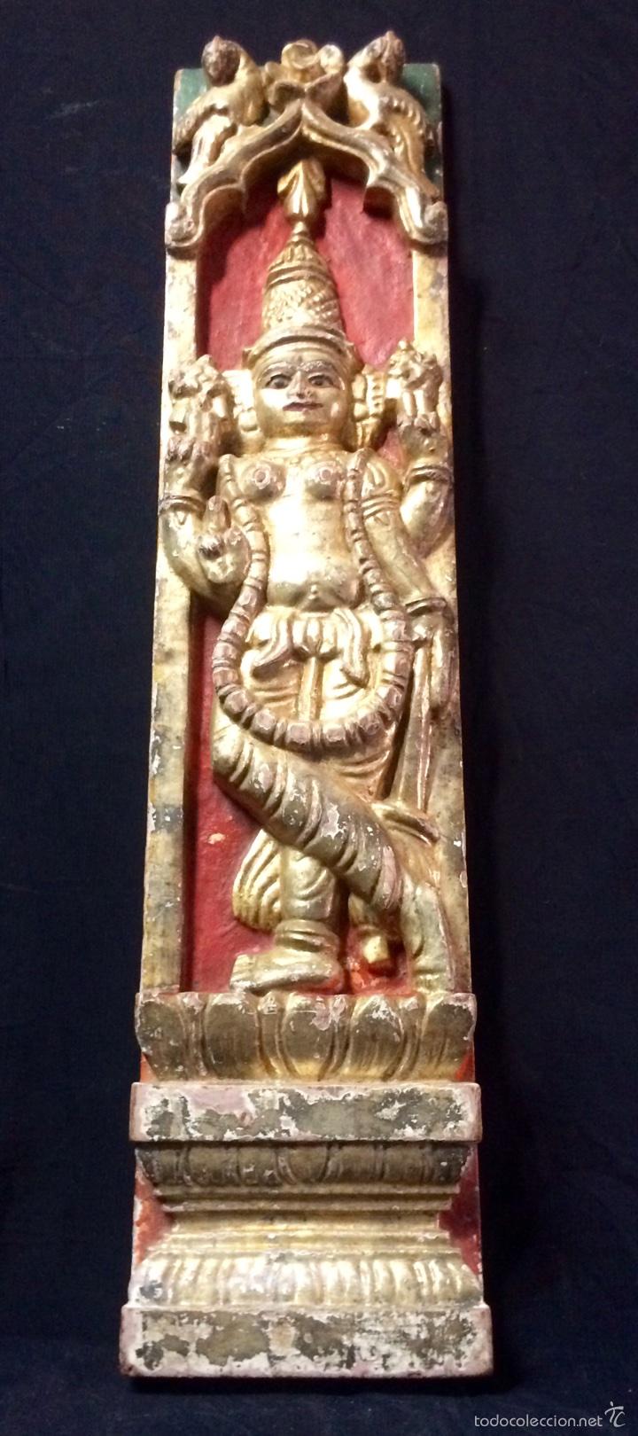 Arte: Tallas en altorelieve orientales, principios siglo XX. - Foto 9 - 66341313