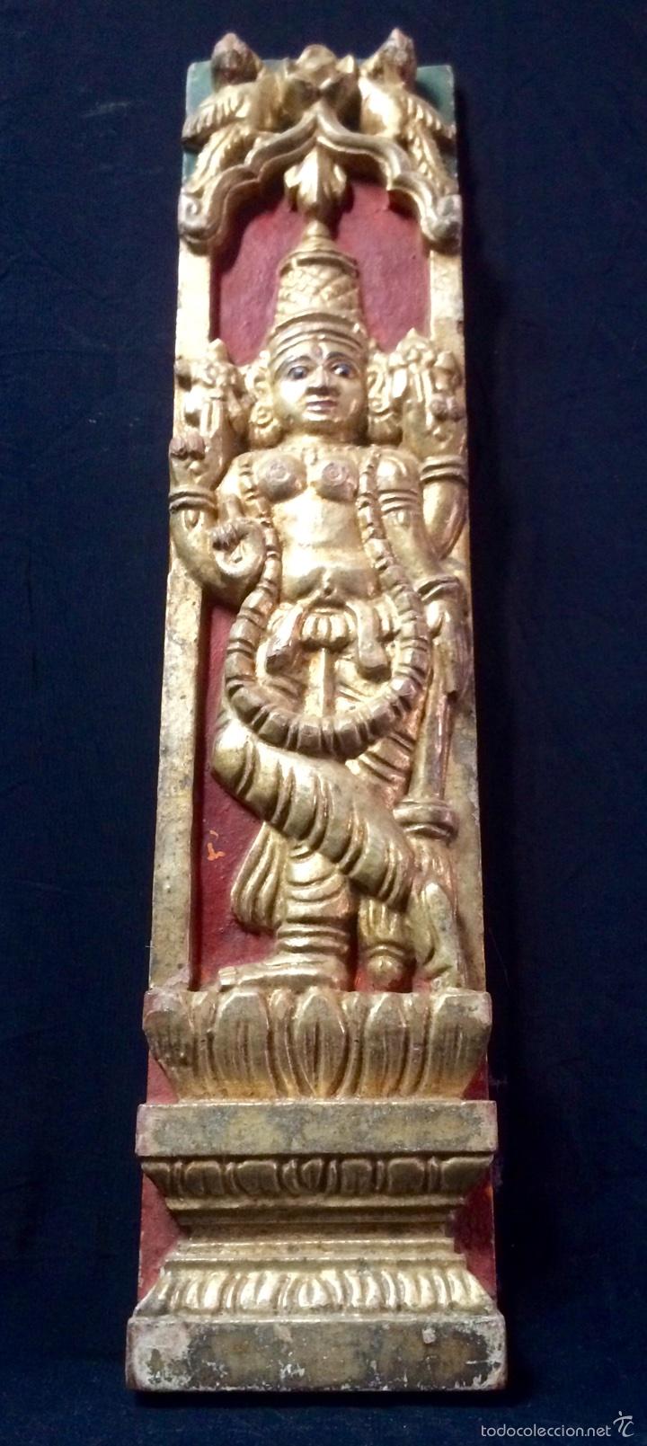 Arte: Tallas en altorelieve orientales, principios siglo XX. - Foto 12 - 66341313