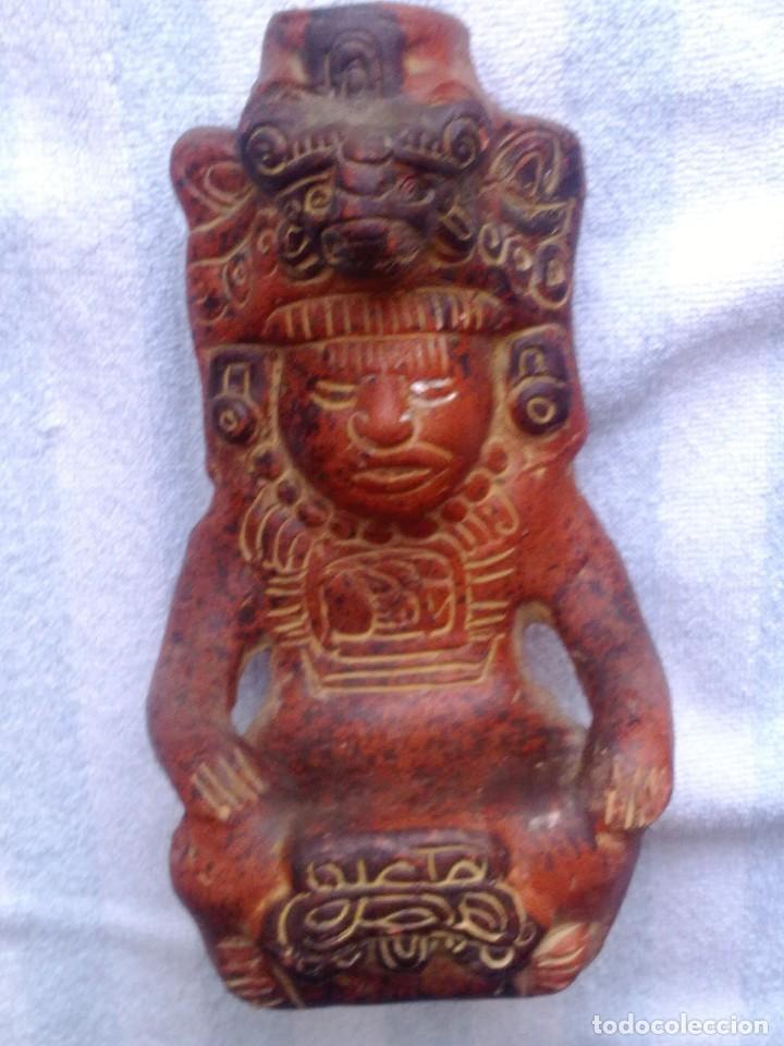 DIOS AZTECA. (Arte - Étnico - América)