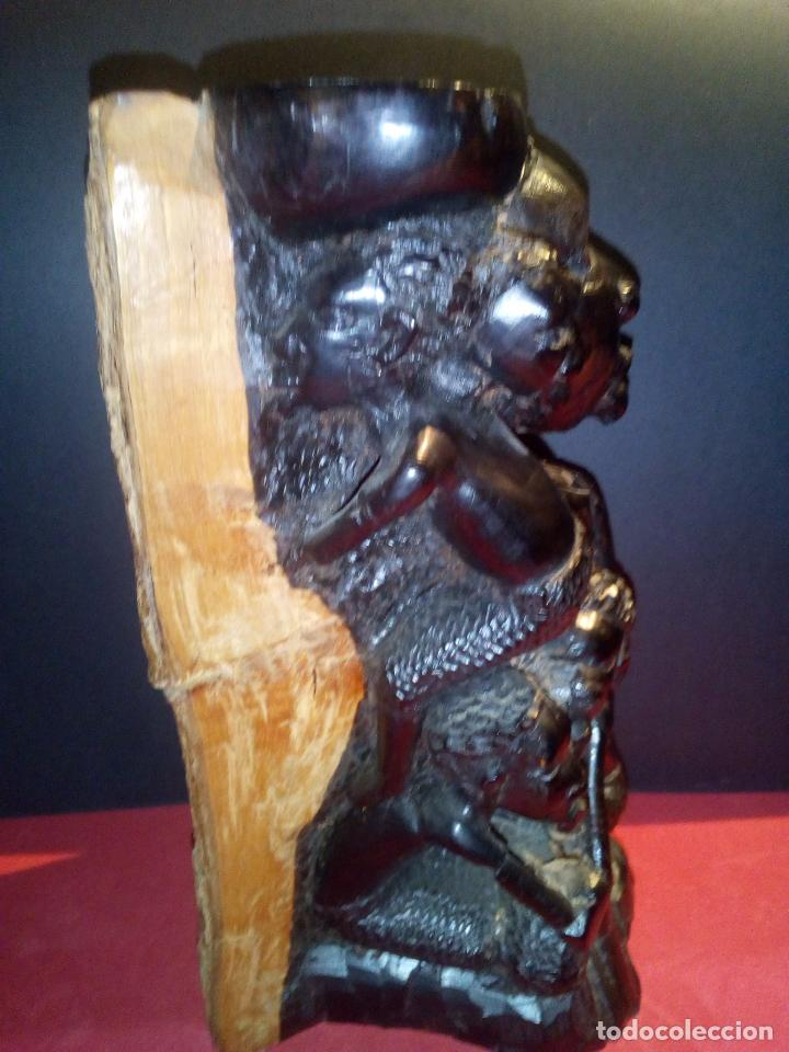 Arte: Talla en Ébano Tribu Makonde - Foto 5 - 69418969