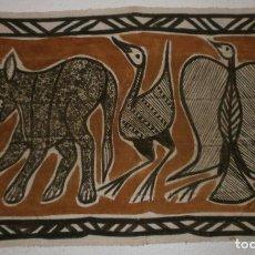 Arte: TELA AFRICANA (120 X 70 CMS). Lote 69620097