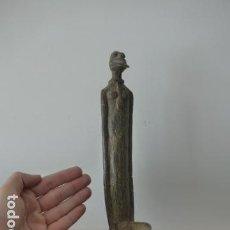 Arte: ANTIGUA GRAN ESCULTURA DE BRONCE, ARTE AFRICANO DE MALI. ORIGINAL.. Lote 70022261