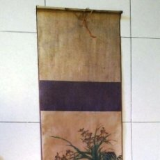 Arte: PINTURA CHINA ROLLO PARED. PRIMERA MITAD SIGLO XX. Lote 136204937